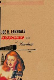 Book Cover for SUNSET AND SAWDUST