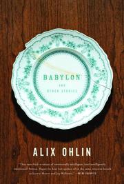 BABYLON by Alix Ohlin