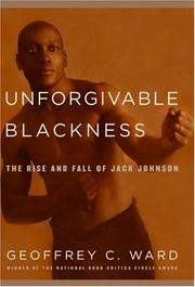 Cover art for UNFORGIVABLE BLACKNESS