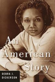 Cover art for AN AMERICAN STORY