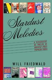 STARDUST MELODIES by Will Friedwald