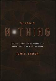 THE BOOK OF NOTHING by John D. Barrow
