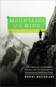 Book Cover for MOUNTAINS OF THE MIND