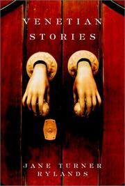 VENETIAN STORIES by Jane Turner Rylands