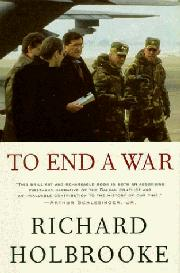 Cover art for TO END A WAR