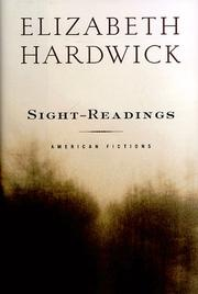 Cover art for SIGHT-READINGS