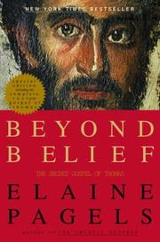 Cover art for BEYOND BELIEF
