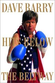Cover art for DAVE BARRY HITS BELOW THE BELTWAY