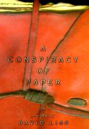 Cover art for A CONSPIRACY OF PAPER