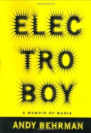 Cover art for ELECTROBOY