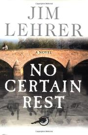 Cover art for NO CERTAIN REST