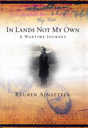 IN LANDS NOT MY OWN by Reuben Ainsztein