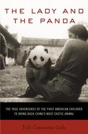 Cover art for THE LADY AND THE PANDA