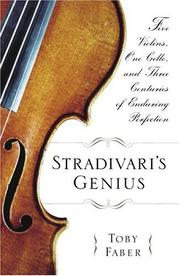 Book Cover for STRADIVARI'S GENIUS