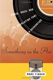 Cover art for SOMETHING IN THE AIR