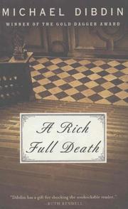 A RICH FULL DEATH by Michael Dibdin