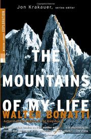 Cover art for THE MOUNTAINS OF MY LIFE