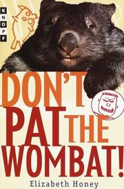 Cover art for DON'T PAT THE WOMBAT!