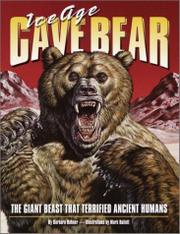 ICE AGE CAVE BEAR by Barbara Hehner