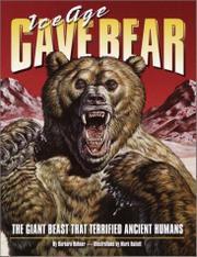 ICE AGE CAVE BEAR by Barbara Hehner