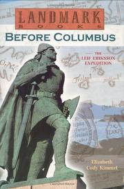 BEFORE COLUMBUS by Elizabeth Cody Kimmel