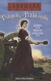 Book Cover for PATRIOTS IN PETTICOATS