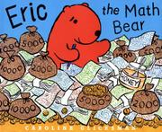 ERIC THE MATH BEAR by Caroline Glicksman