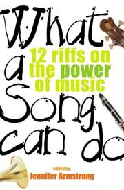 Book Cover for WHAT A SONG CAN DO