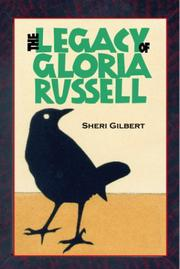 THE LEGACY OF GLORIA RUSSELL by Sheri Gilbert