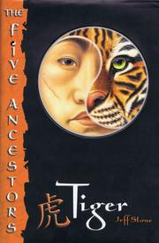 Cover art for THE FIVE ANCESTORS #1: TIGER