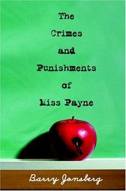 Book Cover for THE CRIMES AND PUNISHMENTS OF MISS PAYNE