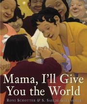 Cover art for MAMA, I'LL GIVE YOU THE WORLD