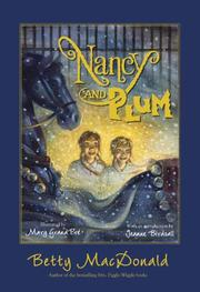 Cover art for NANCY AND PLUM