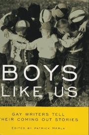 Book Cover for BOYS LIKE US