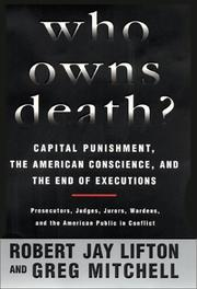 Cover art for WHO OWNS DEATH?
