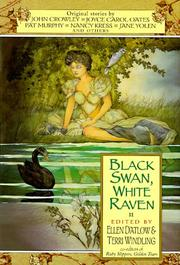 Cover art for BLACK SWAN, WHITE RAVEN