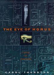 Book Cover for THE EYE OF HORUS