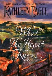 Cover art for WHAT THE HEART KNOWS