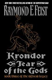 Book Cover for KRONDOR: TEAR OF THE GODS