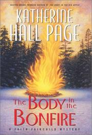 Cover art for THE BODY IN THE BONFIRE