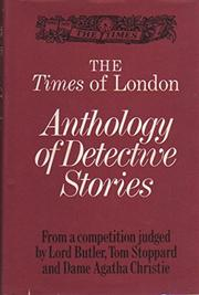 THE TIMES OF LONDON ANTHOLOGY OF DETECTIVE STORIES by Agatha Christie