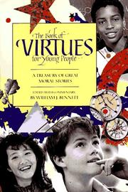 THE BOOK OF VIRTUES FOR YOUNG PEOPLE by William J. Bennett