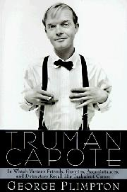 Cover art for TRUMAN CAPOTE