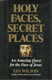Cover art for HOLY FACES, SECRET PLACES
