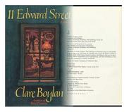 11 EDWARD STREET by Clare Boylan
