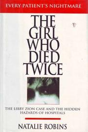 THE GIRL WHO DIED TWICE by Natalie Robins