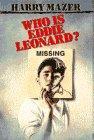 WHO IS EDDIE LEONARD? by Harry Mazer