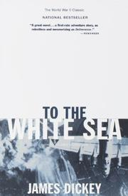 Cover art for TO THE WHITE SEA