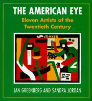 THE AMERICAN EYE by Jan Greenberg