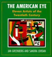 THE AMERICAN EYE by Jan Greenberg